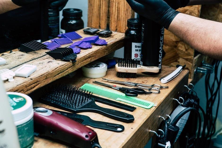 Packing equipment for Barber Exam
